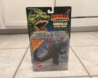 1994 Trendmasters Godzilla King of the Monsters Godzilla Action Figure MIP Movies