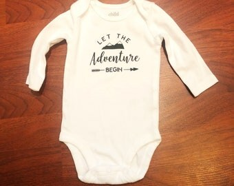 Adventure Begins Onesie