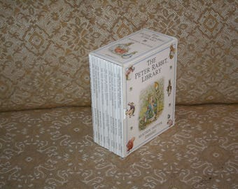 """Wonderful Boxed Set """"The Peter Rabbit Library"""" Beatrix Potter 1997 Hardcovers!  Probably Never Read!"""