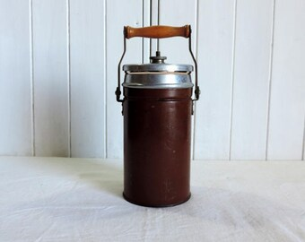 Vintage French soup flask