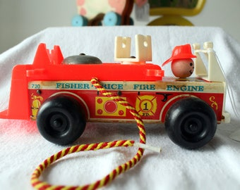 Fisher Price Fire Engine #334