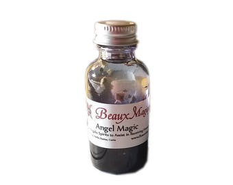Angel Magic ~ hoodoo oil,  Altar Oil, Conjure Oil, rootwork, ritual oil, spirit board