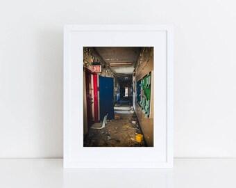 Primary Colors - Urban Exploration - Fine Art Photography Print