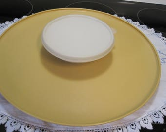 Vintage Tupperware Chip and Dip Tray 1970,s