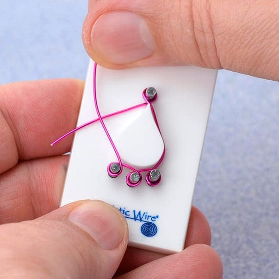 Teardrop  connector wire jig by beadalon make your own quality ear wires and take your jewlery to the next level.