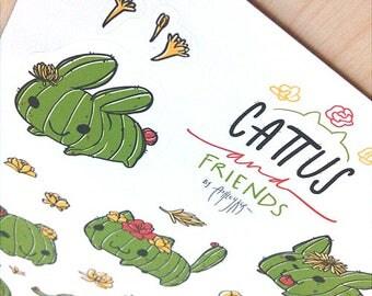 Cattus and Friends - Sticker Sheet