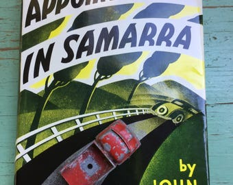 Appointment in Samarra, John O'Hara, HCDJ, Facsimile of First Edition,Hardcover, Iconic Dust Jacket, Gift Display Collection, Americana
