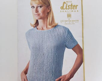 Vintage knitting patterns - choice of five. All 'rescued' from vintage markers, boot sales and antique fairs.