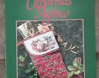 Christmas Aglow Cross Stitch Leaflet