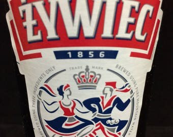 Zywiec scented candle - made to order