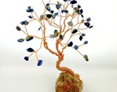 Mini Gem Tree, Custom Order, Wire Tree Sculpture, Family Tree, Friendship Gifts, Cute Desk Accessories, Cubicle Decor, Birthday Gifts