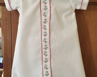 Baby Boy Christmas Daygown