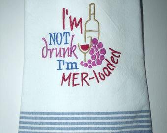Tea towel Merloaded