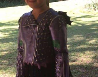 Disney's Descendants II Mal PLEATHER Children Jacket ONLY