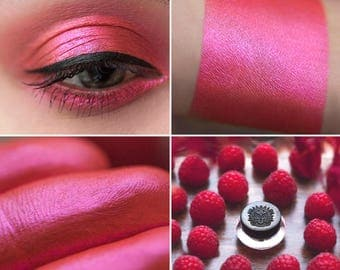 Eyeshadow: Raspberry - Fairy. Warm pink satin eyeshadow by SIGIL inspired.