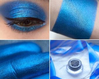 Eyeshadow: Coolness - Fairy. Rich blue satin eyeshadow by SIGIL inspired.