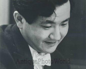 Japan conductor Hiroyuki Iwaki vintage photo