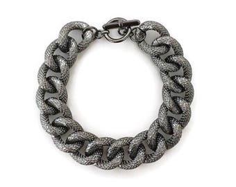Original Gunmetal Chain Bracelet