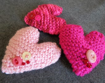 Scented Knit Hearts