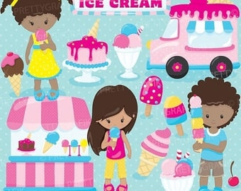 80% OFF SALE Summer ice cream clipart commercial use, baby hero vector graphics, digital clip art, digital images - CL889