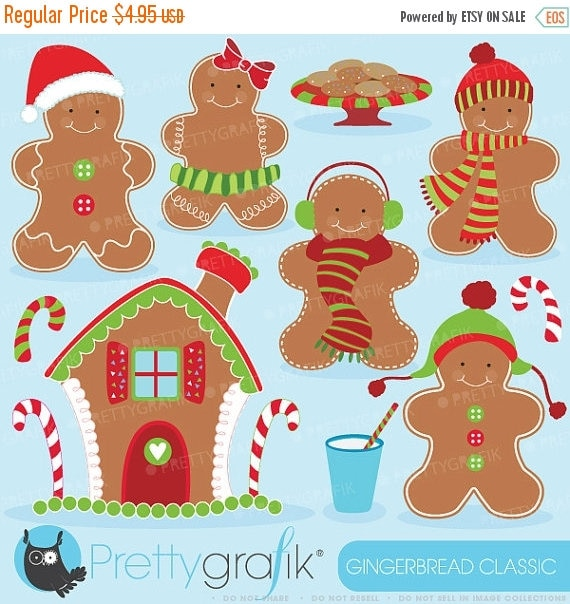 80 off sale 80 percent 0ff sale gingerbread man clipart il570xn voltagebd Image collections