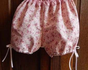 Elastic waist pink Bloomer for baby