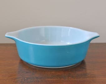 Pyrex Blue Horizon 471 Casserole Dish