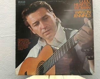 "Waylon Jennings - ""Good Hearted Woman"" vinyl record"