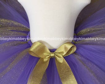 Sale lavender and gold tutu skirt