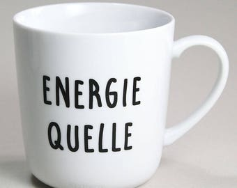 Cup energy source