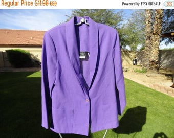 50% OFF Purple southern lady size Large 42 inch bust 30 inch length
