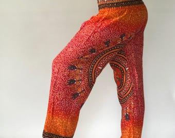 SM0012 Thai Genie Pants Comfy Trouser, Gypsy Pants Rayon Pants,Aladdin Pants Maxi Pants Boho Pants