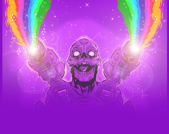 Regular Print - Rainbow Revenant
