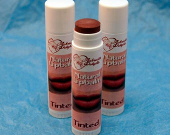Natural Handmade Lip Balm - Tinted