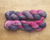 Wildflower (OOAK) - superwash merino/nylon sock yarn (463 yards) fingering weight