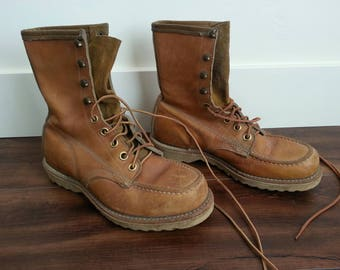 70s BF Goodrich Leather Ankle high boots!