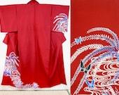 Red polyester tsukesage k...