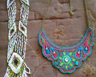 Native American style necklaces