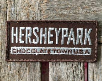 Hershey Park Chocolate Town USA Souvenir Travel Patch