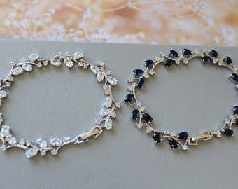Crystal  Bracelet Wedding Bracelet Art Deco Bracelet  Great Gatsby 1920s   Bridal Jewelry Wedding Jewellery Bridal Bracelet