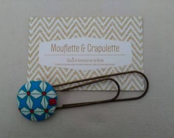 Beautiful Betsy - covered button bookmarks
