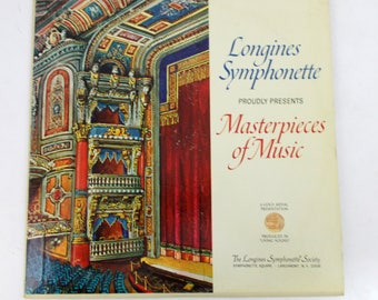 Longines Symphonette Society Masterpieces of Music Vinyl LP Record Album LWCP 3