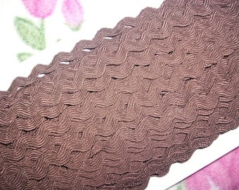 3m rickrack, brown (385)