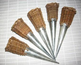 Basket Zinc cornet, 1 piece (528)