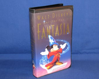 WALT DISNEY'S Fantasia Masterpiece VHS 1991