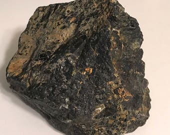 Black Tourmaline, Raw Stones, Healing Stones, Healing Crystal, Chakra Stones, Spiritual stone, Natural Stone