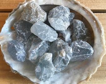 Celestite Small Crystal Natural Stones, Angel Stone,Spiritual Stone, Healing Stone, Healing Crystal, Chakra