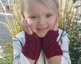 SALE Toddler Gloves in FERN