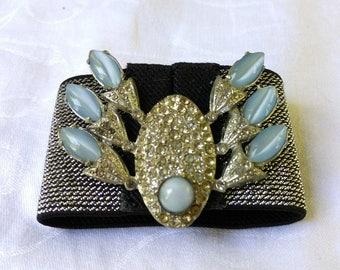 Blingy Blue Crab Wrist Cuff