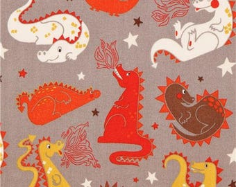 Baby Dragon Grey Fitted Crib/Toddler Sheets and Pillow Cases ~Custom Made~